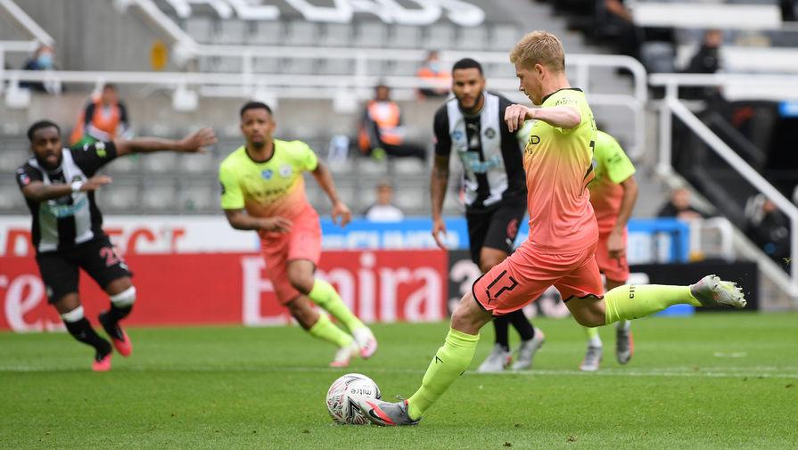 Эпизод матча «Ньюкасл Юнайтед»- «Манчестер Сити»