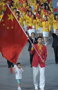 На двух Олимпиадах звезда НБА был знаменосцем делегации КНР