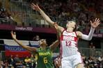 Ирина Осипова о победе над бразильскими баскетболистками