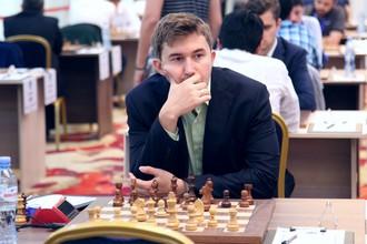 Шахматист Сергей Карякин