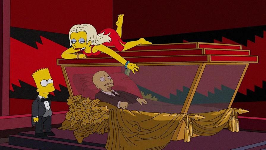 Барт Симпсон, дочь эмигрантов Женя и Владимир Ленин, 20-й эпизод 24-го сезона, 2013 год
