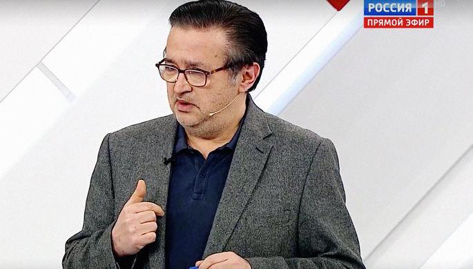«Как мразь»: ведущий «России 1» выгнал эксперта из студии