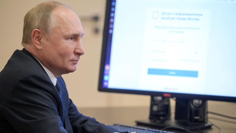 Реакция Путина на мрачный юмор Жириновского попала на видео