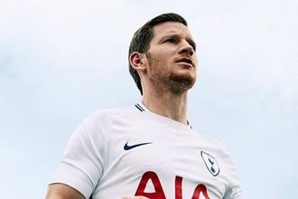 Лондонский «Тоттенхэм Хотспур» представил новую игровую форму на ближайший сезон