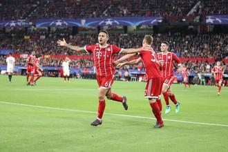 «Севилья» и «Бавария» встречаются в четвертьфинале Лиги чемпионов