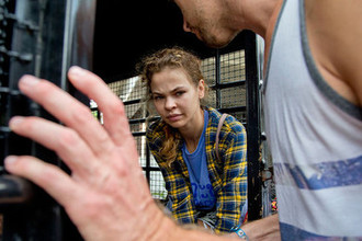 Анастасия Вашукевич (Настя Рыбка) после ареста в Паттайе, Таиланд, 28 февраля 2018 года