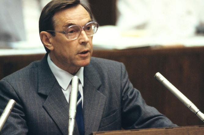 Вениамин Яковлев, 1989 год