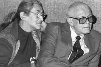 Елена Боннэр и Андрей Сахаров, 1988 год