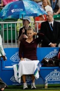 Из-за дождя откладывается второй матч Марии Шараповой
