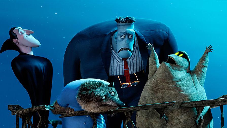 Кадр из мультфильма «Монстры на каникулах 2»