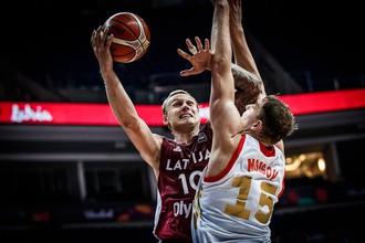 Сборная России по баскетболу уступила Латвии на Евробаскете-2017