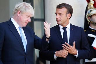 «Палец на ядерной кнопке»: Макрон покончит с Британией в ЕС