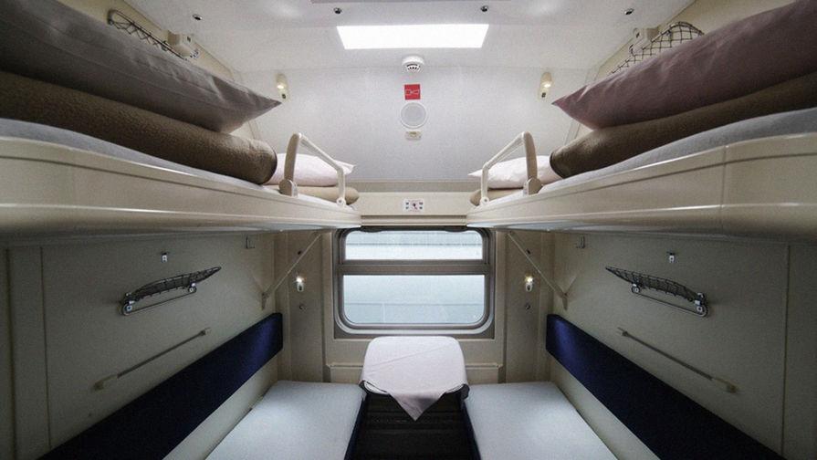 Фотографии интерьера новых поездов в Крым появились в сети