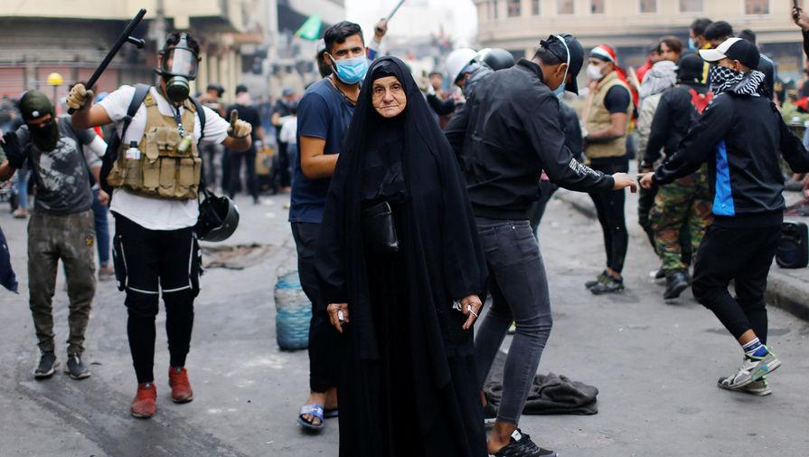 Антиправительственные протесты в Багдаде, Ирак, 20 декабря 2019 года