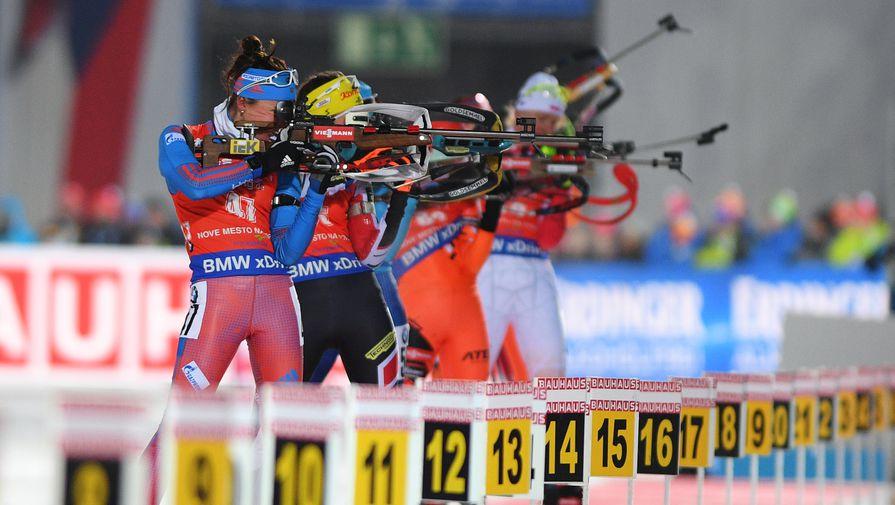 Российские биатлонистки попробуют добыть медаль в последней гонке перед чемпионатом мира
