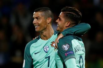 Капитан сборной Португалии Криштиану Роналду впервые привез свою команду на Кубок конфедераций