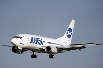 В аэропорте «Внуково» совершил аварийную посадку Боинг-737 авиакомпании «Ютэйр»