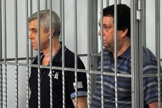 Василий Крутько и Виктор Жданов в Абинском районном суде