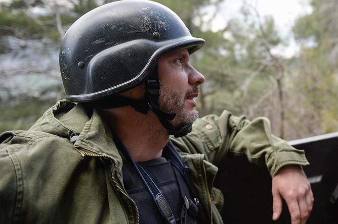 Андрей Стенин в Сирии
