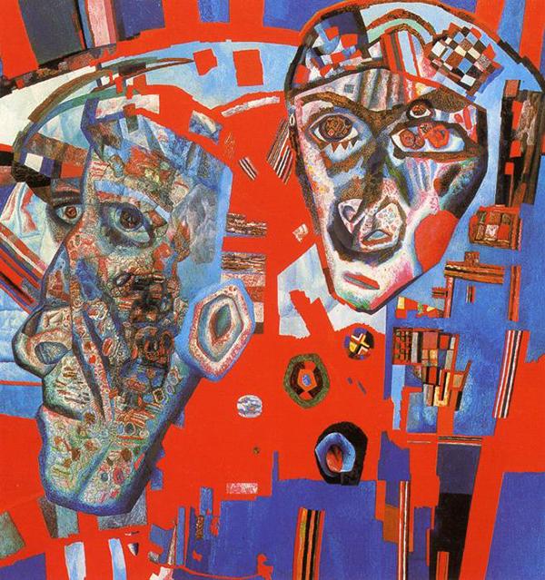 «Две головы», Павел Филонов