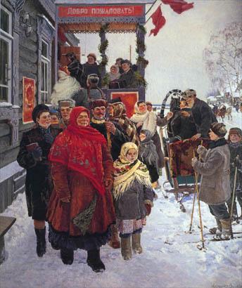 «День выборов в Верховный Совет СССР», Александр Волков