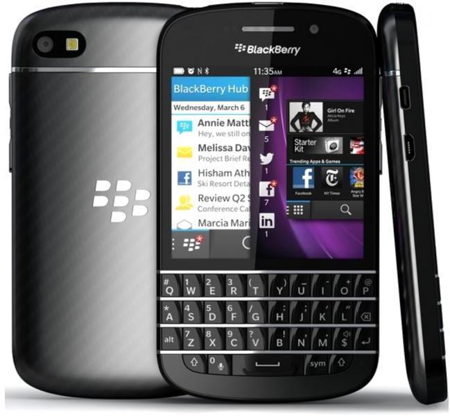 BlackBerry Q10 пользуются Меркель и Обама