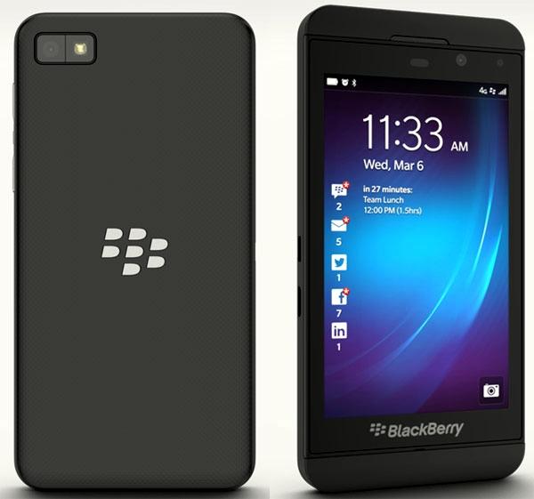 BlackBerry Z10s — смартфон немецкого правительства