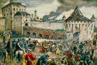 Эрнст Лисснер. Изгнание польских интервентов из Московского Кремля в 1612 году