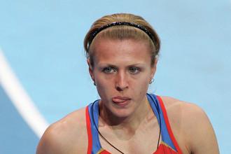 Российская легкоатлетка Юлия Степанова