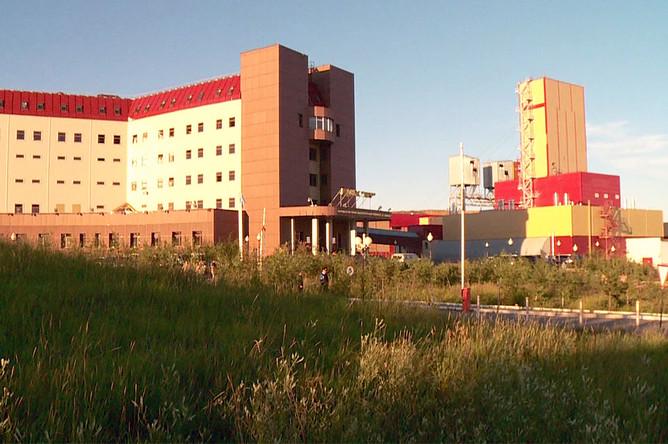 Рудник «Мир» в городе Мирный, Якутия, где произошла авария, 4 августа 2017 года