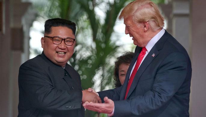 Трамп заявил о желании вновь встретиться с Ким Чен Ыном