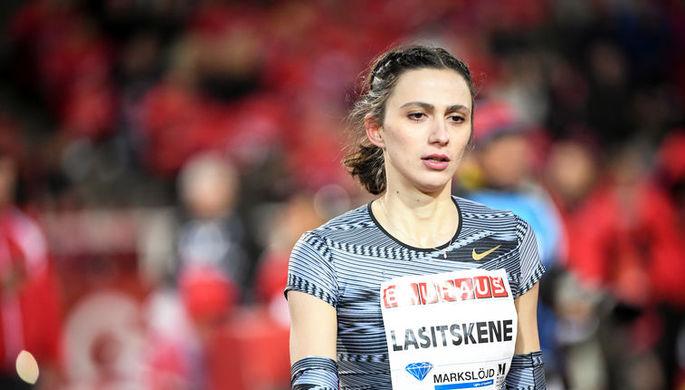 Российская прыгунья в высоту Мария Ласицкене