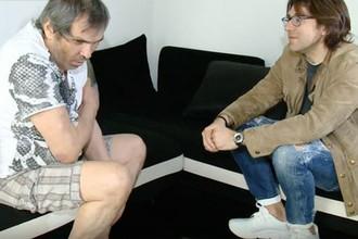 Бари Алибасов и Андрей Малахов во время интервью, июнь 2019 года