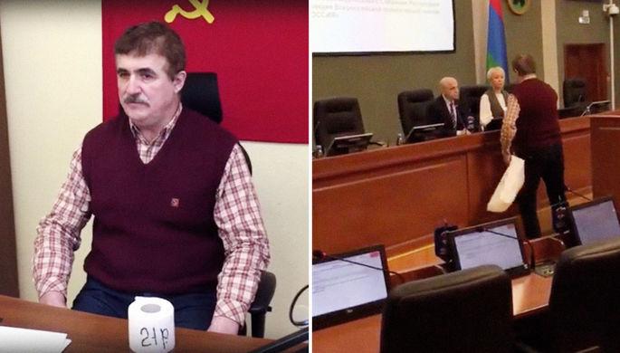 «Плевок властей»: как пенсионер «отблагодарил» депутатов