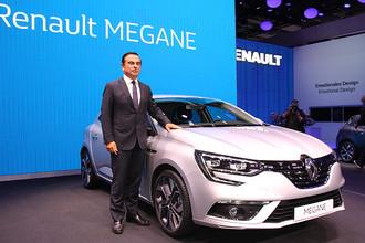 Президент и генеральный директор компаний Renault и Nissan Карлос Гон