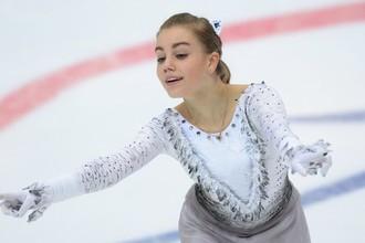 Российская фигуристка Алиса Федичкина