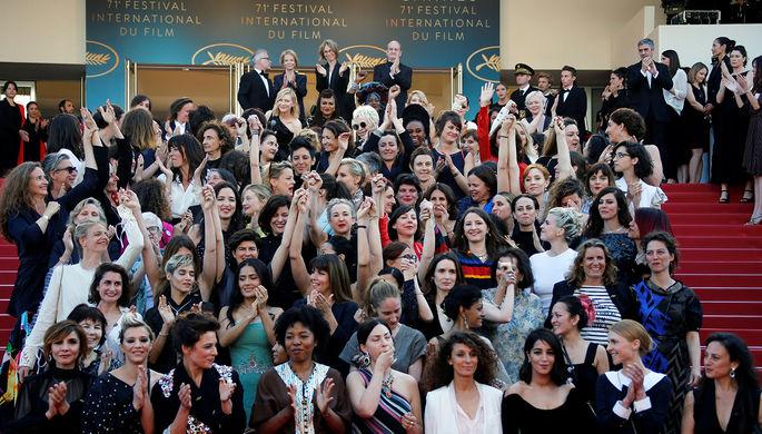 82 женщины на красной дорожке Каннского кинофестиваля, май 2018 года