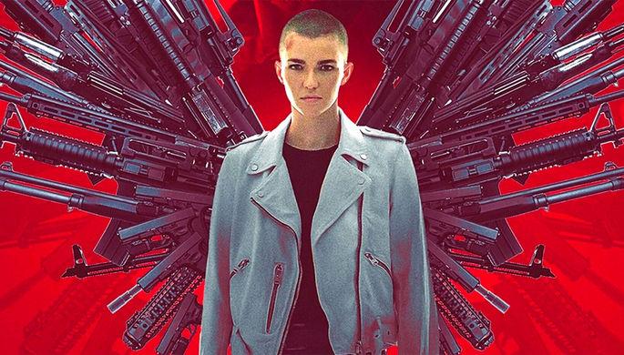 Фрагмент постера к фильму «Ангел мести» (2021)