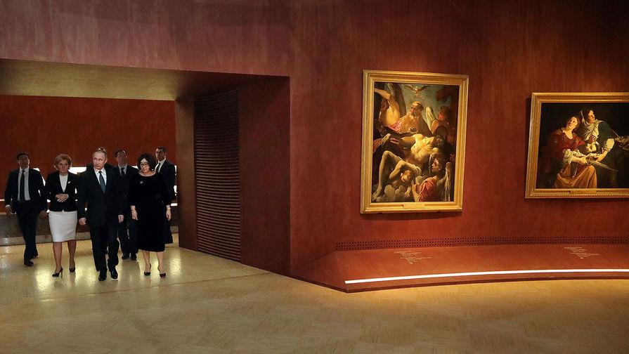 Путин посетит Третьяковскую галерею