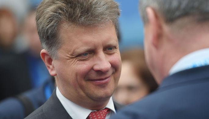 Министр транспорта РФ Максим Соколов, 13 апреля 2018 года