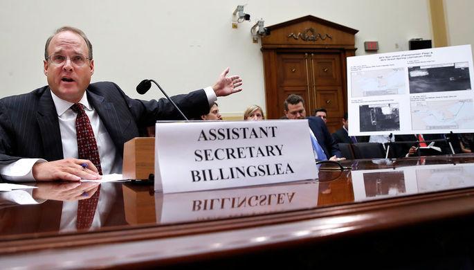 помощник министра финансов США Маршалл Биллингсли, 12 сентября 2017 года