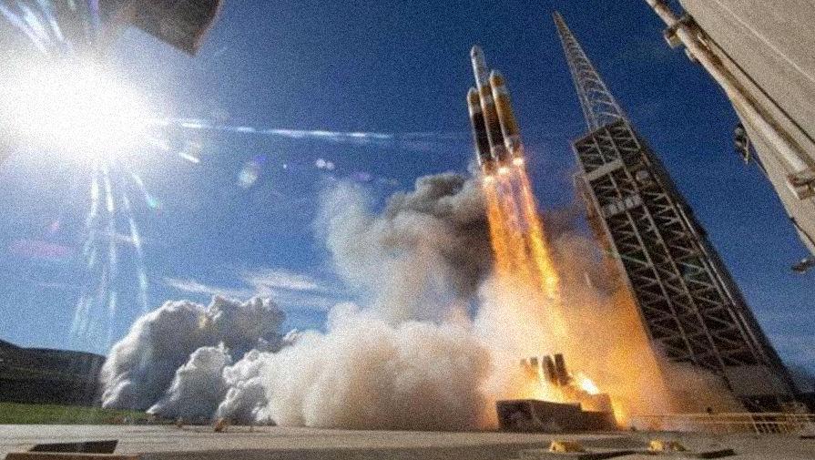 В обстановке секретности: ракета Delta вывела спутник-шпион
