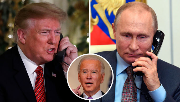 Секретные записи: Байден может узнать, о чем говорили Путин и Трамп