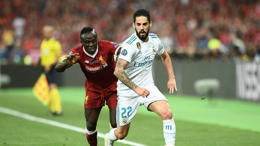 Реал обыграл Ливерпуль в первом матче 1/4 финала Лиги чемпионов