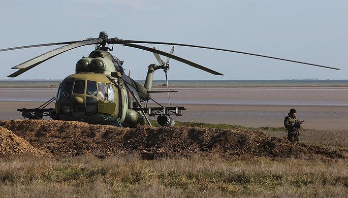 Вертолет Ми-8 вооруженных сил Украины
