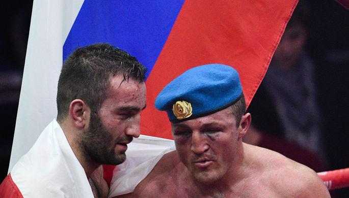 Мурат Гассиев и Денис Лебедев
