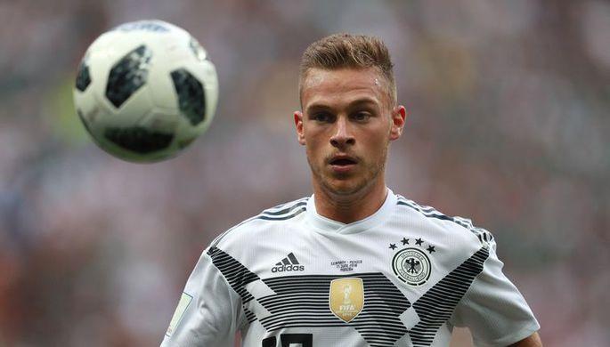 Футболист сборной Германии Йозуа Киммих