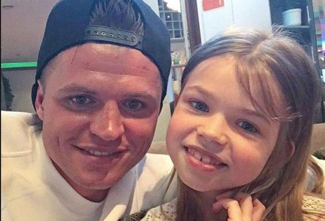 Дмитрий Тарасов с дочерью Ангелиной