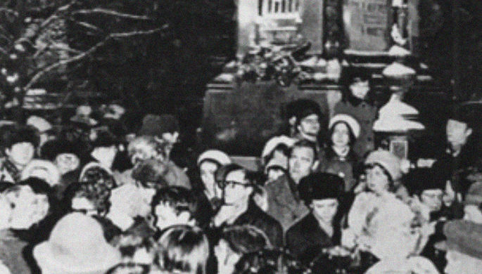 «Антисоветская вылазка»: как прошел первый митинг гласности