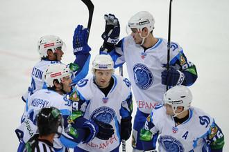 Минские динамовцы на своем льду обыграли «Спартак»